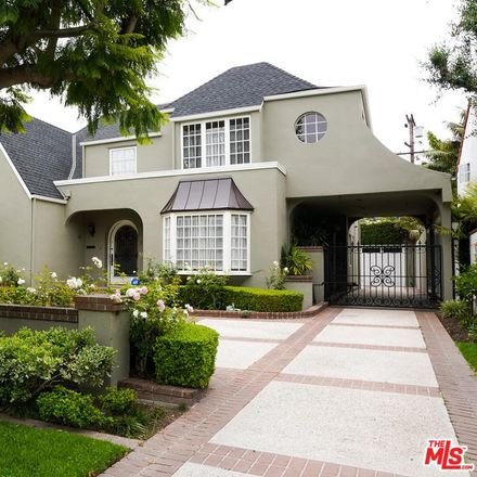 Rent this 4 bed house on 215 S McCarty Dr in Beverly Hills, CA
