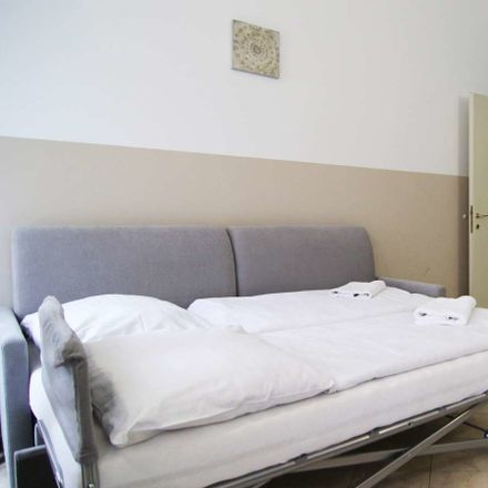 Rent this 1 bed apartment on Tyršova 1811/6 in 120 00 Prague, Czechia