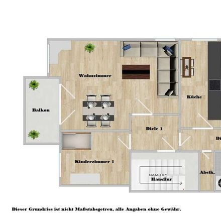 Rent this 4 bed apartment on Barkenberger Allee 47 in 46286 Wulfen, Germany