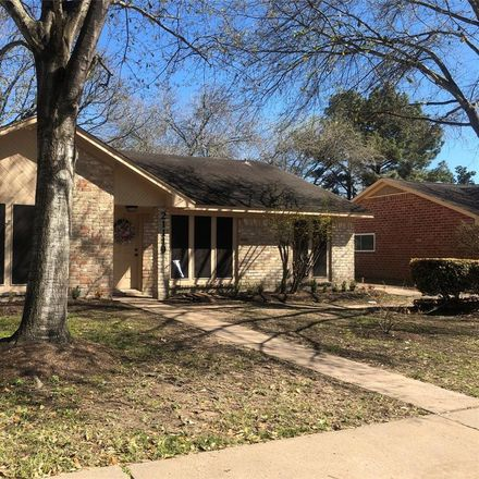 Rent this 4 bed house on 21119 Park Tree Ln in Katy, TX
