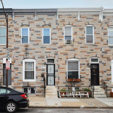 Rent this 2 bed townhouse on 811 North Milton Avenue in Baltimore, MD 21205