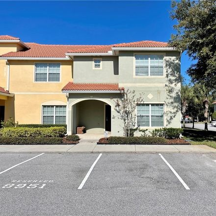Rent this 5 bed townhouse on 8951 California Palm Rd in Kissimmee, FL