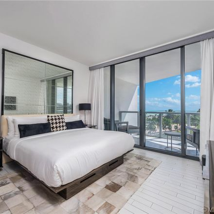 Rent this 1 bed condo on Miami Beach in FL, US