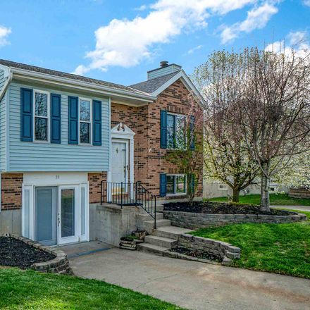 Rent this 3 bed house on 39 Meadow Wood Drive in Florence, KY 41042