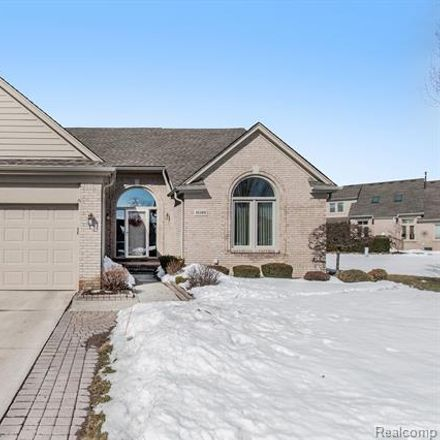 Rent this 3 bed condo on 45389 Diamond Pond Drive in Macomb Township, MI 48044