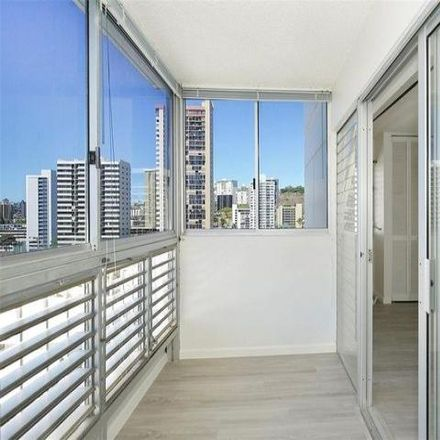 Rent this 2 bed condo on Bellevue Towers in 1309 Wilder Avenue, Honolulu