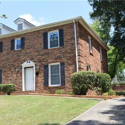 Rent this 3 bed townhouse on 1001 Heather Lane in Charlotte, NC 28209