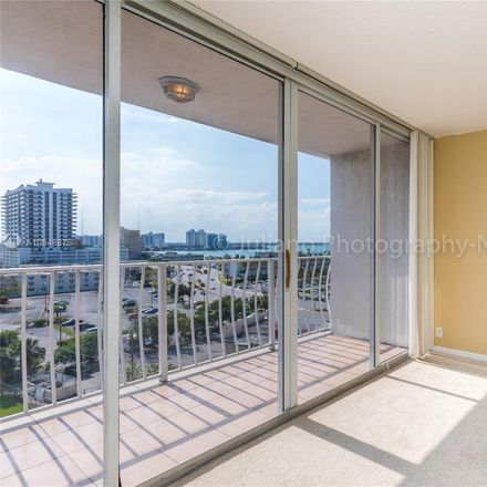 Rent this 1 bed condo on 7601 East Treasure Drive in North Bay Village, FL 33141