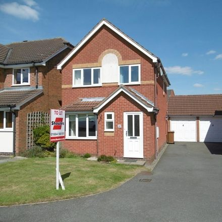 Rent this 3 bed house on Mildmay Close in Potter Hill LE13 1AH, United Kingdom
