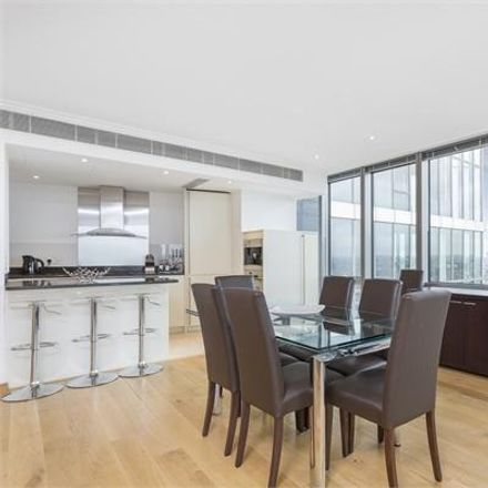 Rent this 2 bed apartment on The West India Quay Car Park in Hertsmere Road, London E14 4AW