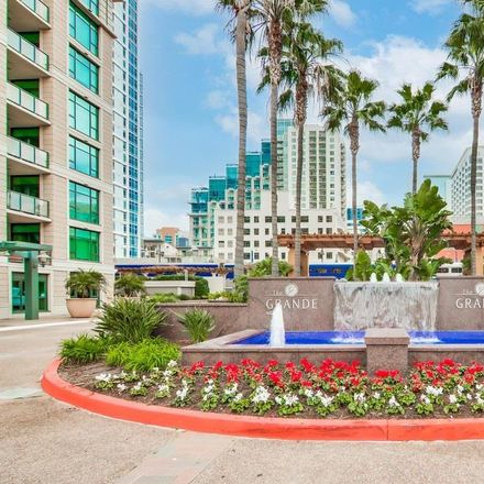 Rent this 2 bed townhouse on The Grande North at Santa Fe Place in 1205 Pacific Highway, San Diego