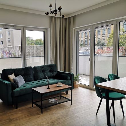 Rent this 1 bed apartment on Grzybowska 85 in 00-844 Warszawa, Poland