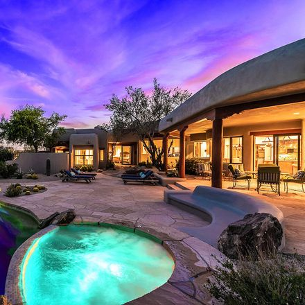 Rent this 3 bed house on 10418 East Groundcherry Lane in Scottsdale, AZ 85262