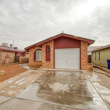 Rent this 3 bed apartment on 9474 Ariel Rico Court in El Paso, TX 79907