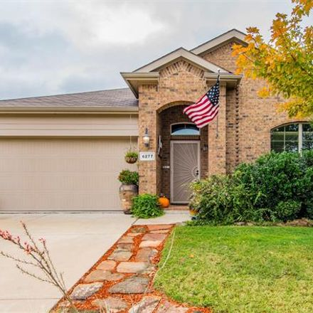 Rent this 3 bed house on 6277 Bush Buck Run in Fort Worth, TX 76179