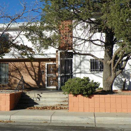 Rent this 2 bed duplex on Coe Dr NE in Albuquerque, NM