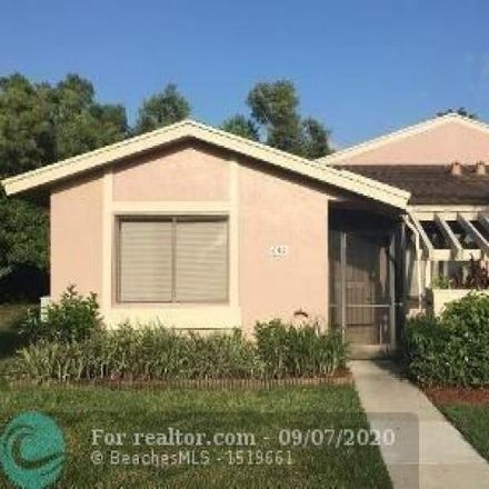 Rent this 3 bed condo on 603 Racquet Club Road in Weston, FL 33326