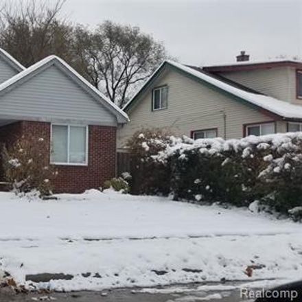 Rent this 3 bed house on 22144 Pleasant Avenue in Eastpointe, MI 48021
