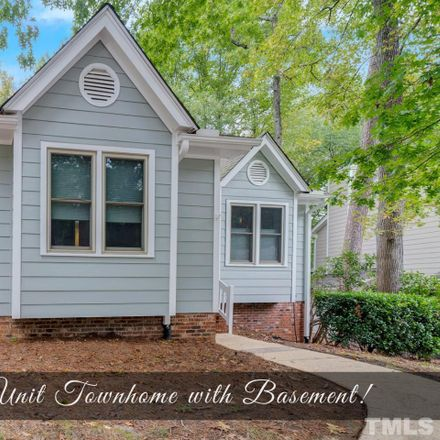 Rent this 3 bed townhouse on 1412 Mapleside Court in Raleigh, NC 27609