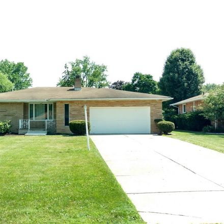 Rent this 3 bed house on 5746 Darrow Drive in Seven Hills, OH 44131