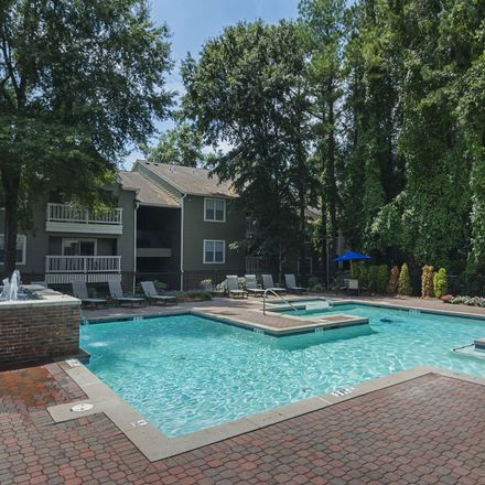 Rent this 1 bed apartment on 1515 Knob Hill Drive Northeast in North Druid Hills, GA 30329