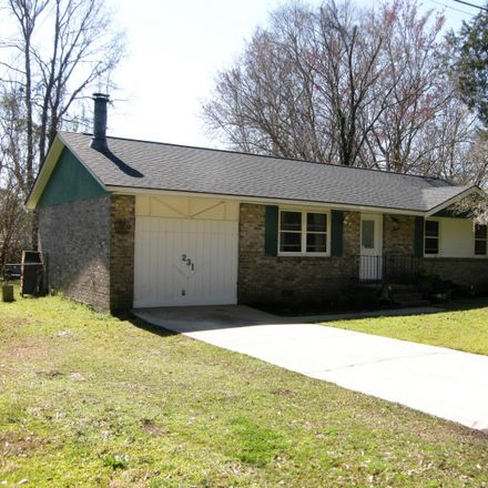 Rent this 3 bed house on 231 Tupperway Drive in Summerville, SC 29483