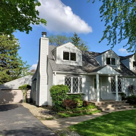 Rent this 3 bed house on 813 Glendale Road in Glenview, IL 60025