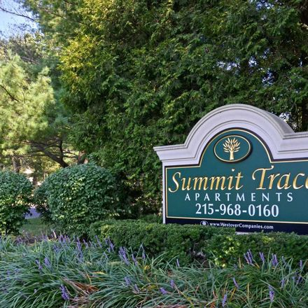 Rent this 1 bed apartment on 404 Summit Trace Road in Middletown Township, PA 19047