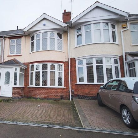 Rent this 4 bed house on Kelvin Avenue in Coventry CV2 3DD, United Kingdom