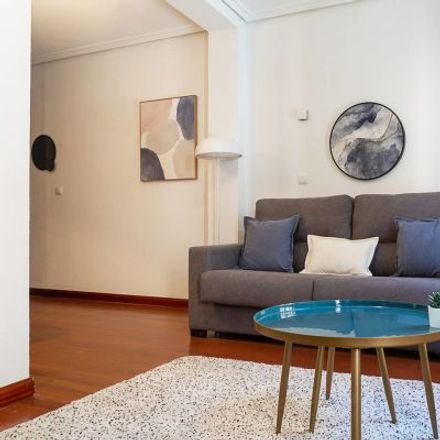 Rent this 2 bed apartment on Calle Mediodía Chica in 28001 Madrid, Spain
