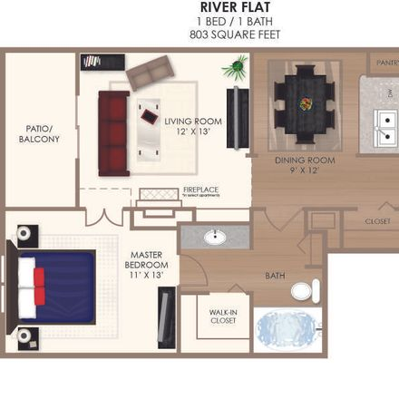 Rent this 3 bed apartment on Bed Bath & Beyond in East Knickerbocker Place, Pleasant Acres