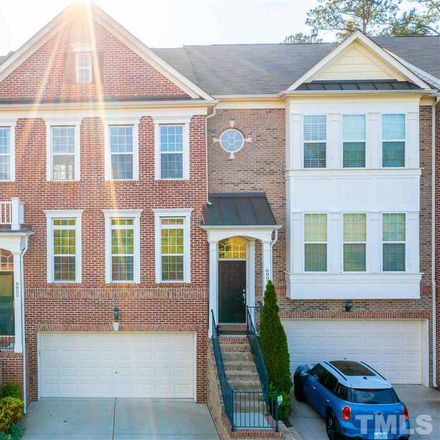 Rent this 3 bed townhouse on 8805 Macedonia Lake Drive in Cary, NC 27518