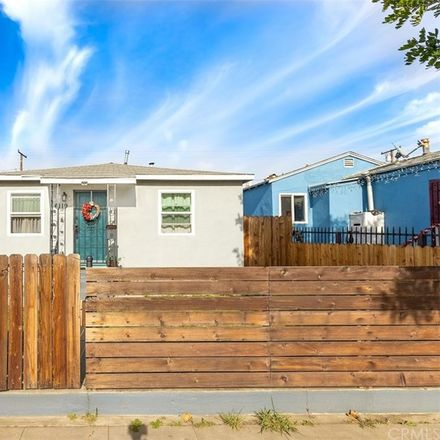 Rent this 3 bed house on East Olympic Boulevard in Winter Gardens, CA 90022