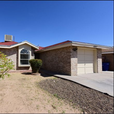 Rent this 3 bed apartment on 11817 Don Meredith Lane in El Paso, TX 79936