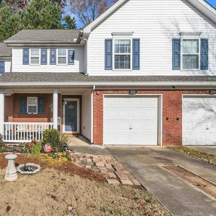 Rent this 2 bed townhouse on 322 Cottonwood Creek Circle in Canton, GA 30114