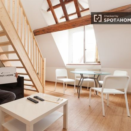 Rent this 1 bed apartment on Rue Souveraine - Opperstraat 86 in 1050 Ixelles - Elsene, Belgium