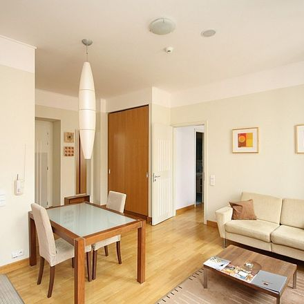 Rent this 2 bed apartment on Belgická 318/12 in 120 00 Prague, Czechia