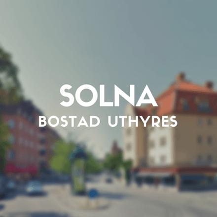Rent this 1 bed apartment on Västra Vägen in 169 61 Solna, Sweden