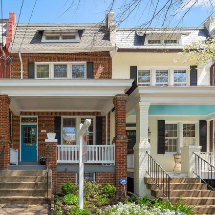 Rent this 4 bed townhouse on 2411 Tunlaw Road Northwest in Washington, DC 20007