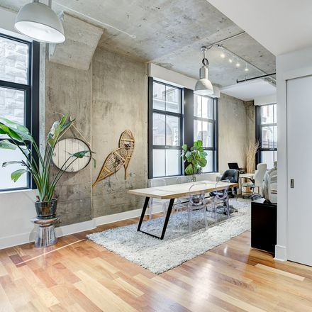 Rent this 1 bed loft on Montreal in QC H2Z 1P4, Canada