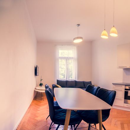 Rent this 1 bed apartment on Kaizlovy sady2 in Sokolovská, 186 00 Prague