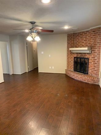 Rent this 4 bed house on 19407 Craigchester Lane in Old Town Spring, TX 77388