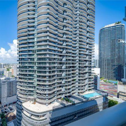 Rent this 2 bed condo on 1050 Brickell Avenue in Miami, FL 33131