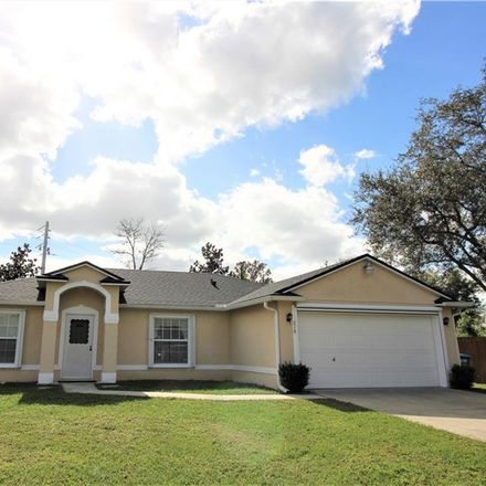 Rent this 3 bed house on 210 Glencove Drive in Deltona, FL 32738