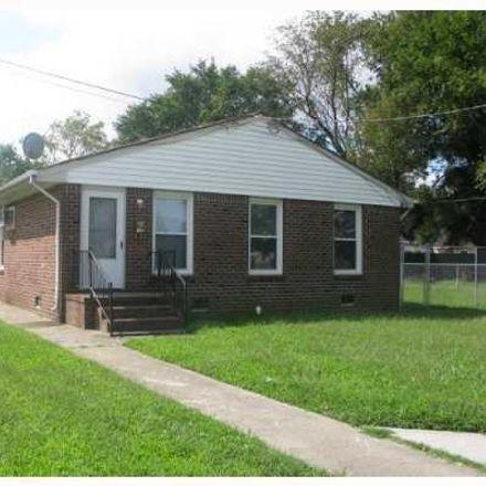 Rent this 2 bed duplex on 1930 Liberty Street in Chesapeake, VA 23324