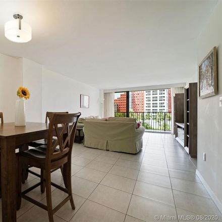 Rent this 2 bed apartment on 1450 Brickell Bay Drive in Miami, FL 33131