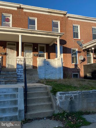 Rent this 3 bed townhouse on 3426 Ravenwood Avenue in Baltimore, MD 21213