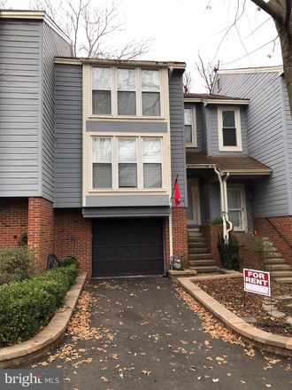 Rent this 3 bed townhouse on 1604 Apricot Court in Reston, VA 20190