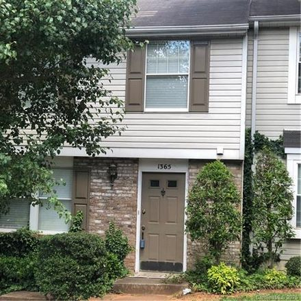 Rent this 3 bed townhouse on 1365 Maple Shade Lane in Charlotte, NC 28270