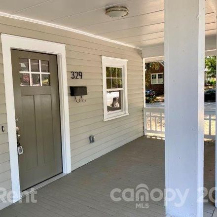 Rent this 2 bed house on 329 Rensselaer Avenue in Charlotte, NC 28203